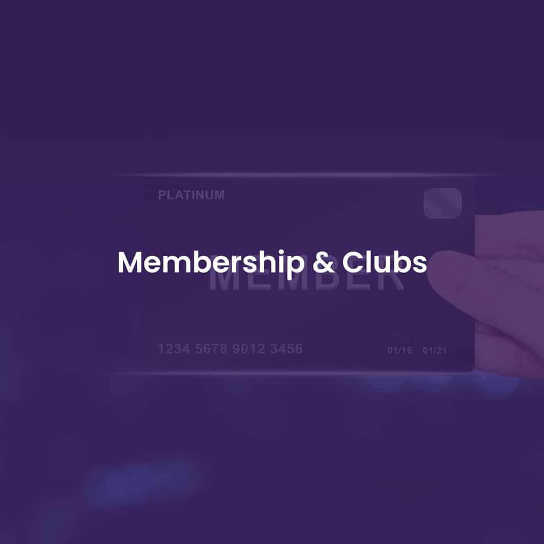 credit card processing membership club
